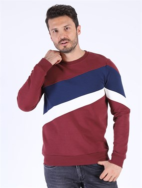 Twister Jeans ESW 1869 Bordo Sweatshirt